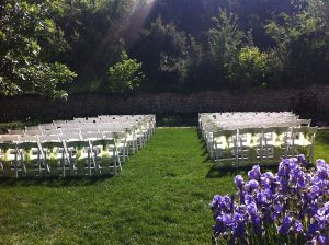 South Lawn ceremony west-facing