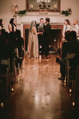 November indoor ceremony by Brittni Willie